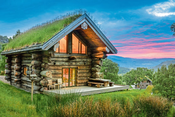 Nestling in the Highland wilderness, the Eagle Brae log cabins provide the ultimate, luxurious escape and activities for adventurous visitors