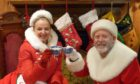 Clare Grogan and Colin McCredie star as Mr and Mrs Santa Claus in The Magic Of Christmas