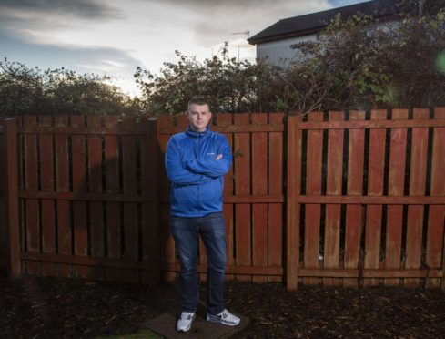 Ross McLean from Kilwinning in North Ayrshire