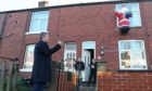 Sir Keir Starmer meets residents affected by last year's floods in Yorkshire