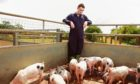 Ryan Kelly poses for pictures down on the farm as Radio 4's rural soap prepares for anniversary