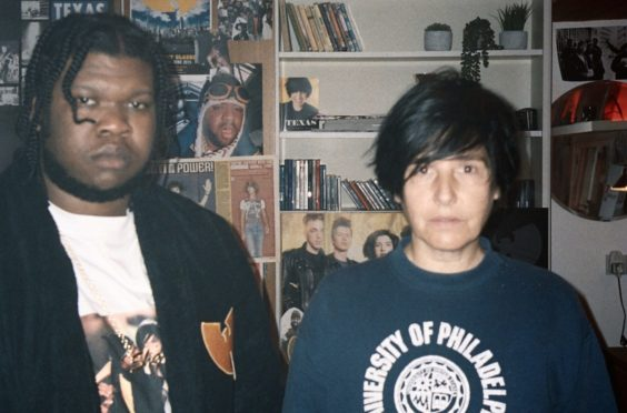 Sharleen Spiteri and Kadeem Ramsay, who stars in the video for the new song