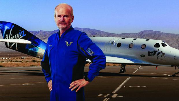 Virgin Galactic Chief Pilot, Dave Mackay