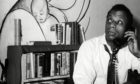 James Baldwin, acclaimed author of If Beale Street Could Talk, in 1963
