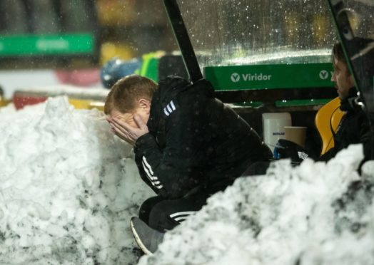 The frustration for Neil Lennon was clear at Livingston in midweek.
