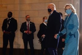 Trump departs for Florida as Biden's inauguration takes place at US Capitol