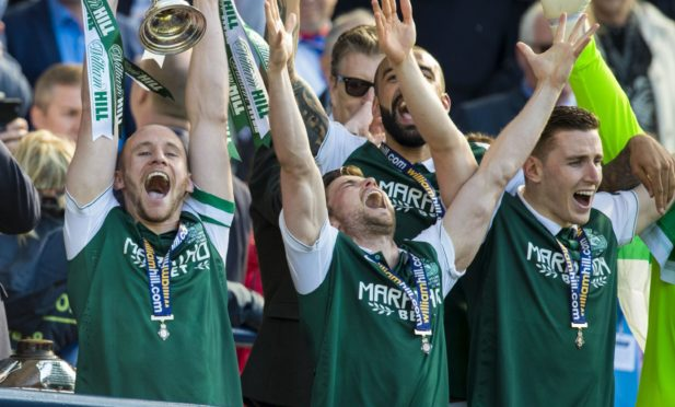 Hibs lifted the Scottish Cup in 2016 and will be hoping for silverware again