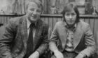 Jim McCalliog with Tommy Docherty