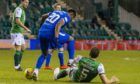 The midweek flashpoint at Easter Road involving Alfredo Morelos and Ryan Porteous