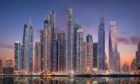 Dubai's forest of soaring skyscrapers