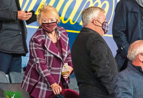 Hearts owner Ann Budge tried to avoid relegation by taking the SPFL to court