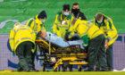 Christopher Jullien was stretchered off in midweek
