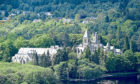 Fort Augustus Abbey on the River Ness.
