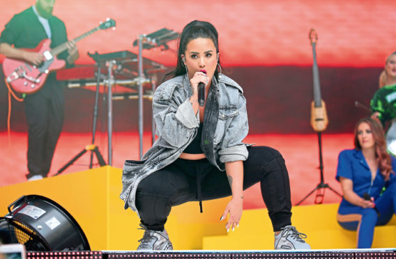 Demi Levato is just one of the celebrities backing new president elect, Joe Biden.