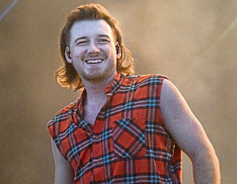 Morgan Wallen at  Country Stampede Music Festival.