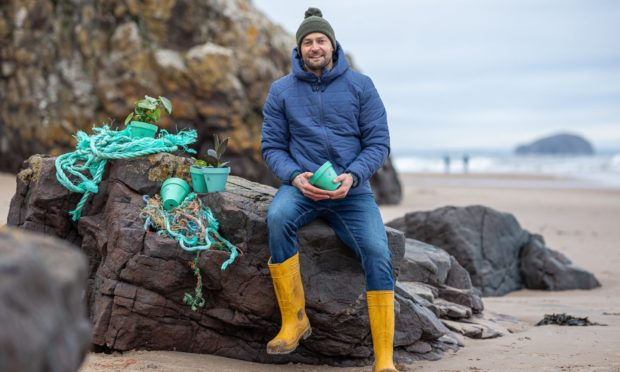 Ally Mitchell of Ocean Plastic Pots