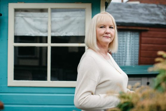 Norma Rivers, who has terminal cancer, at home in Ayr