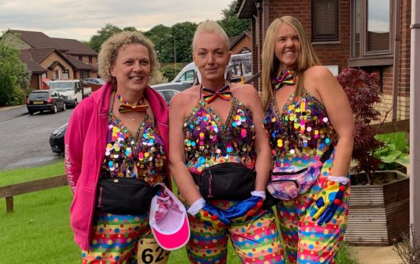 Jacquie McCann, Julie Carmichael and Carol Marr were out of pocket when their trip to see a tribute act was cancelled