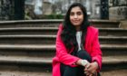 Subodha Handhi, who is now free of leprosy after her diagnosis in 2010, at Pollok House in Glasgow