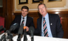 Steven Gerrard with Dave King on the day in 2018 when he was announced as Rangers manager