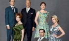 The male stars of retro TV drama Mad Men sport stylish tailoring but experts fear the suit's days are numbered.