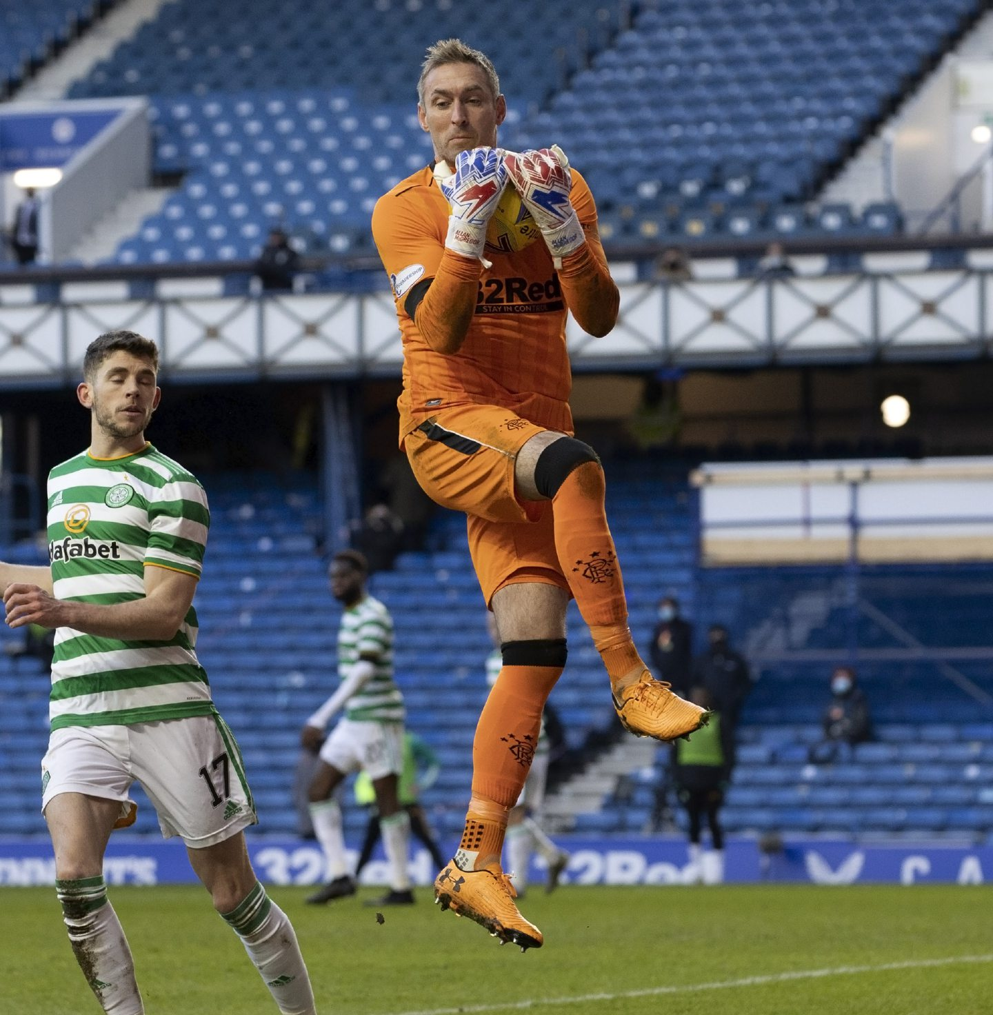 Allan McGregor in action for Rangers