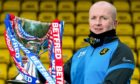 David Martindale will hope he can get his hands on the League Cup this afternoon