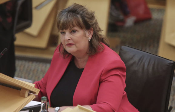 Scottish Business Minister Fiona Hyslop