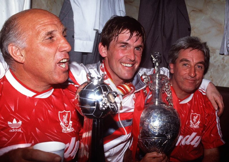 Kenny won the English title eight times with Liverpool as a player and player-manager