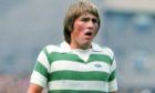 Kenny in action for Celtic in 1976