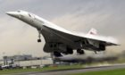 A Concorde flight takes off from London's Heathrow in 2001, 32 years after the stunning plane's 27-minute debut