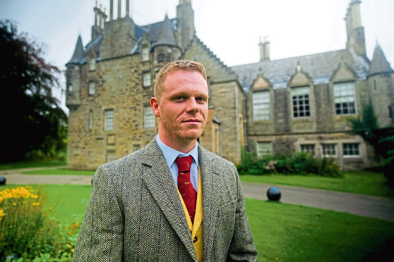 Darren McGarvey at Lauriston Castle