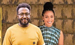Word Up - Podcast Etienne Kubwabo, a filmmaker and writer and Vanessa Kanbi, a Scottish-Ghanian podcaster, presenter and filmmaker.