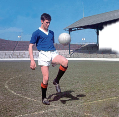 Jim Baxter only appeared inside empty stadiums for photo-calls, but he excited crowds just like Jimmy Johnstone and Gordon Strachan