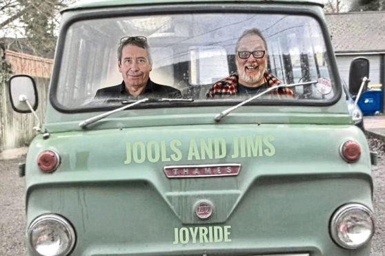Jools Holland and Jim Moir