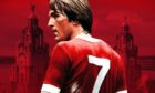 Kenny Dalglish on the poster for the 2017 film Kenny