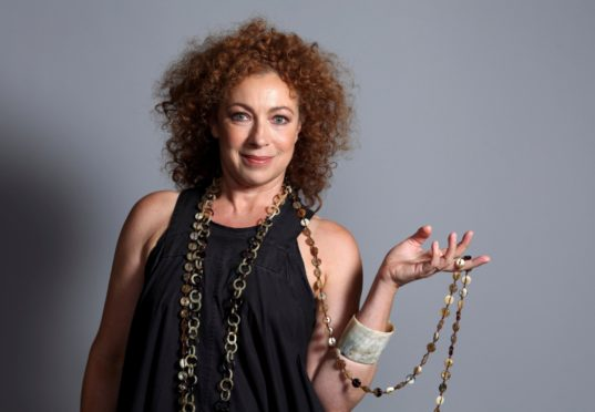 ER and Doctor Who star Alex Kingston