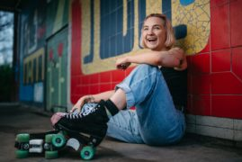 Roller skating sees a surge in popularity as fans reveal the benefits for beating the lockdown blues