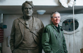 A star is reborn: Fife sculptor creates statue to salute actor Philip Seymour Hoffman in New York