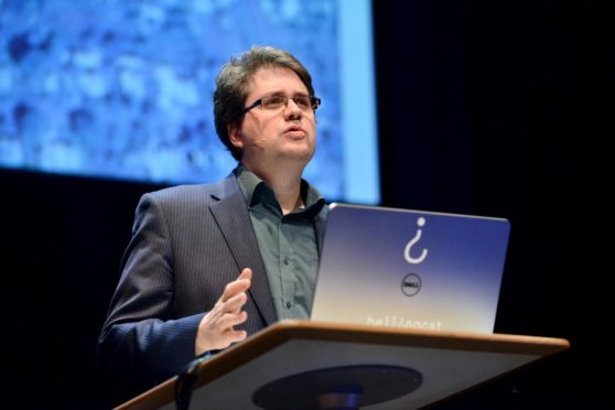 """Bellingcat founder Eliot Higgins: """"People like to have secrets and special sources. We're more like: Here's everything"""""""