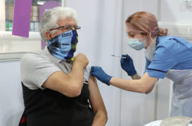 Over-40s next in line for Covid vaccine in Scotland as priority remains by age not occupations
