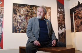 Life and work of Alasdair Gray to be celebrated on 40th anniversary of the publication of seminal novel Lanark