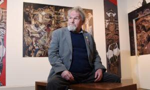 Alasdair Gray at Kelvingrove Art Gallery and Museum