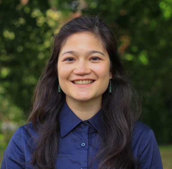 Dr Lauriane Chalmin-Pui, an RHS Wellbeing Fellow