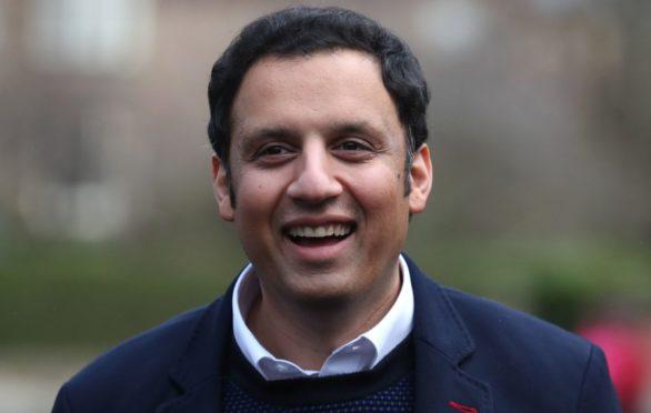 Anas Sarwar after winning the Scottish Labour leadership contest