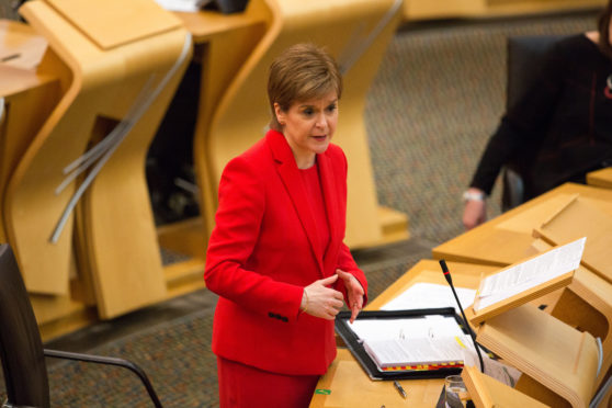 "EXCLUSIVE – Nicola Sturgeon: ""We will get out of this. It will need hard work to get there but the world is waiting for us"""