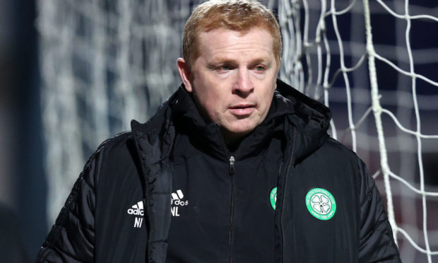 Neil Lennon after Celtic's defeat to Ross County