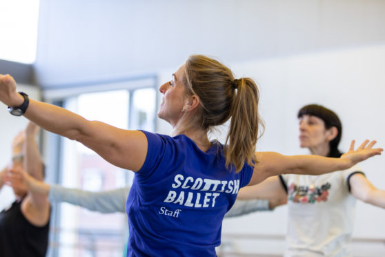 Scottish ballet is offering movement and breath workshops to frontline care workers dealing with Coronavirus and the stresses that come with it.