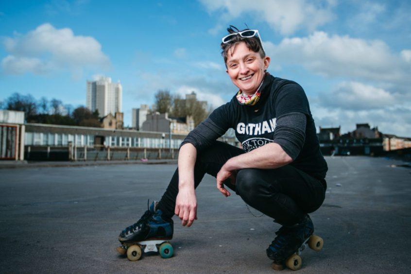 Shona Marshall, owner of 5th Blocker Skates