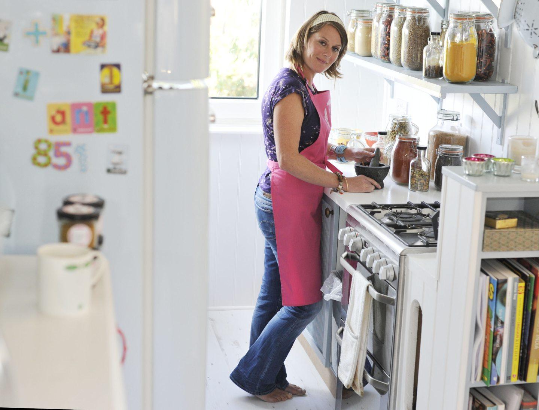 Mel in the kitchen